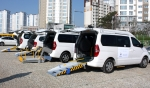 오텍그룹, 인천장애인아시아경기대회 후원 차량
