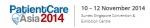 환자케어 아시아 컨퍼런스가 2014년 11월 10일부터 12일까지 싱가포르에서 개최된다