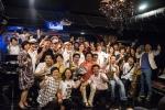 서울재즈원더랜드 3회차 공연에서 한국을 대표하는 재즈빅밴드 서울 솔리스트 재즈오케스트라가 카운트 베이시의 음악을 재현하는 공연을 마치고 관객들과 함께 사진촬영하고 있다.