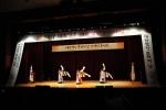 식전 축하공연 중의 하나인 태평무 공연
