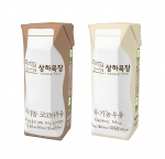 매일유업 상하목장 유기농 인증 코코아 우유 ∙ 무균팩 유기농 우유
