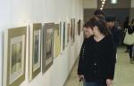 군산대학교 미술관은 군산대학교 발전기금 조성전을 개최했다.