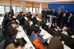 최양식 경주시장, 권영길 시의회 의장, 한수원 자사고 설립 촉구 기자회견