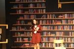 배우 안미나 씨가 행복한 책읽기라는 주제를 가지고 강연을 열었다.