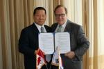 김정행 대한체육회(KOC) 회장은 지난 11. 8(토) ANOC 총회가 열리고 있는 태국 방콕에서 캐나다 NOC 및 과테말라 NOC와 체육교류 양해각서(MOU)를 체결했다.