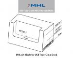 USB 타입-C 도크 위한 MHL Alt 모드