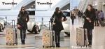배우 고아라의 공항 패션이 눈길을 끌고 있다.