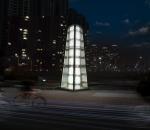 빛과 물이 하나된 초대형 유리 피라미드 미디어분수타워가 인기다.