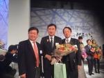 김희삼 교수(오른쪽 첫번째)가 산업통상자원부 장관상을 수상하였다