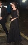 영국의 왕세손비 케이트 미들턴 올 블랙 '귀족 패션'을 선보여 화제가 되고 있다.