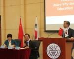 건국대 송희영 총장이 한중 대학총장포럼에 참석했다.