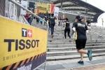 티쏘는 한국 최초 어반 애슬론 경기를 후원하였다.