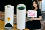 LG전자가 디자인과 사용 편의성을 강화한 프리미엄 공기청정기 알프스를 출시한다.