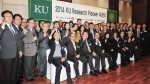 건국대 산학협력단은 지난 18일 오후 더클래식500에서 KU Research Pioneer 시상식을 열고, 연구 실적이 우수한 교수 41명에게 연구 우수 표창과 격려금을 전달했다.