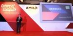 20일 싱가폴에서 개최된 AMD 주관 Future of Compute 행사 기간에 삼성전자는 키노트 스피치에 참여해 모니터 산업의 비전과 프리싱크 기술을 공유하고, AMD와의 협력 의지를 드러냈다.  사진은 Future of Compute 행사에서 AMD 프리싱크 기술이 탑재된 모니터에 대해 설명하고 있는 삼성전자 동남아총괄 조 찬(Joe Chan) 상무.