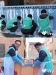 하나I&S, 역촌동서 벽화 나눔 실천