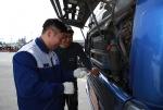볼보트럭코리아가 제주지역 고객들의 겨울철 안전운행을 위하여 찾아가는 서비스를 실시했다.
