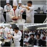 한국호텔관광전문학교 호텔조리학과에서는 과학과 요리를 접목한 분자요리 수업을 국내 최초로 정식 수업 과목으로 운영한다.