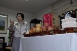 남상민 (사)한국예절문화원 이사장이 제수 진설에 대해 설명하고 있다
