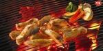 백신 푸드인 닭고기를 간편하고 색다르게 즐길 수 있는 하림 IFF 토종닭 소금구이 조리 모습