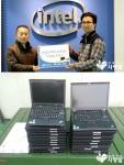 인텔코리아가 사단법인 함께하는 사랑밭을 통해 구로구청에 노트북을 기증했다.