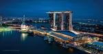 싱가포르 마리나베이샌즈 리조트 전경