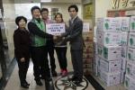 고양로타리클럽, 고양이민자통합센터에 후원금과 김장김치 전달