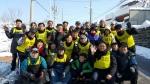 군산대학교 공무원직장협의회는 6일 군산시 장미동, 둔율동, 삼학동 일대의 독거노인 세대를 찾아 연탄 기부 및 배달 봉사활동을 펼쳤다.