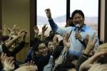 웃음치료사 창시자 한광일 한국강사은행 총재가 365일 행복의 날 웃음의 날 제정 운동에 참여한 발기인을 1차로 발표했다.