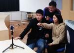 신제품 프로젝트에 참여한 신현복(박사 4학기, 사진좌), 김수지(석사 2학기, 사진우), 이현구(박사 2학기, 사진뒤)