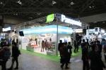 파나소닉은 2014 도쿄 환경전시회에서 편의점용 솔루션을 선보였다