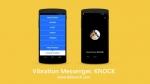 유니크래스가 진동으로 커뮤니케이션을 할 수 있는 초간편 메신저 Knock(노크) 앱을 출시 했다