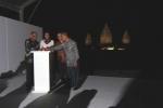점등식은 인도네시아 정부, 유네스코 자카르타 사무소, PT 타만, 그리고 파나소닉의 대표들에 의해 치러쳤다.