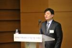 세창인스트루먼트 경영전략부 박성범 이사가 사례발표를 하고 있다.