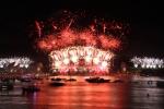 호주 시드니 새해 불꽃놀이 축제