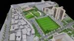건국대는 콘크리트 스탠드 허물고 축구·농구 등 운동시설 광장형 공연장을 조성할 계획이다.