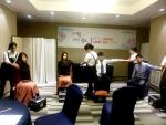 서울시중부여성발전센터(수탁기관 사단법인 청년여성문화원)와 중부여성새로일하기센터가 실시하는 '그녀를 위한 쉼표' 행사에서 재직여성이 서비스를 받는 모습