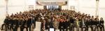 2015 비전공유의 밤 행사에 전임직원 300여명과 협력업체 14개사가 참석한 자리