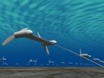 수중 부유 방식 해류 터빈 시스템