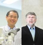 도정태 교수(왼쪽)와 공동 교신저자인 독일 막스플랑크연구소 한스쉘러(Hans Scholer) 교수