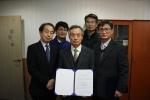 2014.12.30. 금천구시설관리공단 부서장들이 사업운영성과계약을 체결하였다.