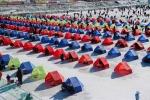 평창송어축제가 오는 2월 8일까지 강원도 평창군 진부면 오대천 일대에서 열린다.