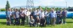 유럽핵입자물리연구소(CERN)의 7번째 검출기 MoEDAL실험팀과 조용민 건국대 석학교수(앞줄 왼쪽).