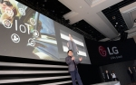 LG전자가 현지시각 5일 미국 라스베이거스 만달레이베이 호텔에서 LG전자 프레스 컨퍼런스를 열었다. LG전자 CTO 안승권 사장이 1,000여명의 국내외 언론인이 참석한 가운데 전략제품과 혁신기술을 소개하는 모습