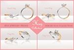 디블리스 주얼리는 새해 첫 신제품으로 예물 반지 허그 컬렉션을 출시했다