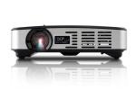 노벨뷰에서 HD 고화질급의 휴대용 미니 빔프로젝터 NBP400을 출시했다. 사진은 노벨뷰 NBP400 정면