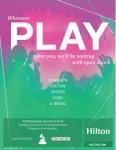 힐튼은 새로운 캠페인 라이브 네이션과의 파트너십을 위해 여러분을 초대한다. 멈춰서 음악을 듣고 어렵사리 얻은 휴가를 즐기며 놀이 시간을 가질 수 있다.
