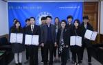 군산대학교 언론사가 군산대학교 본부 총장 접견실에서 제 34회 황룡학술문학상 현상공모 시상식을 개최하였다.