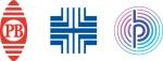 피트니 보우의 브랜드 심볼 변천(좌로부터 1930년, 1971년 및 2015년)