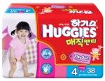 유한킴벌리의 하기스 매직팬티가 팬티형 기저귀 소비자 만족도 1위에 선정됐다.